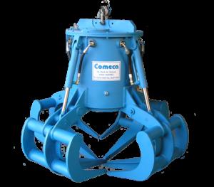 Grappin de manutention Electro-hydraulique - COMECA Industries